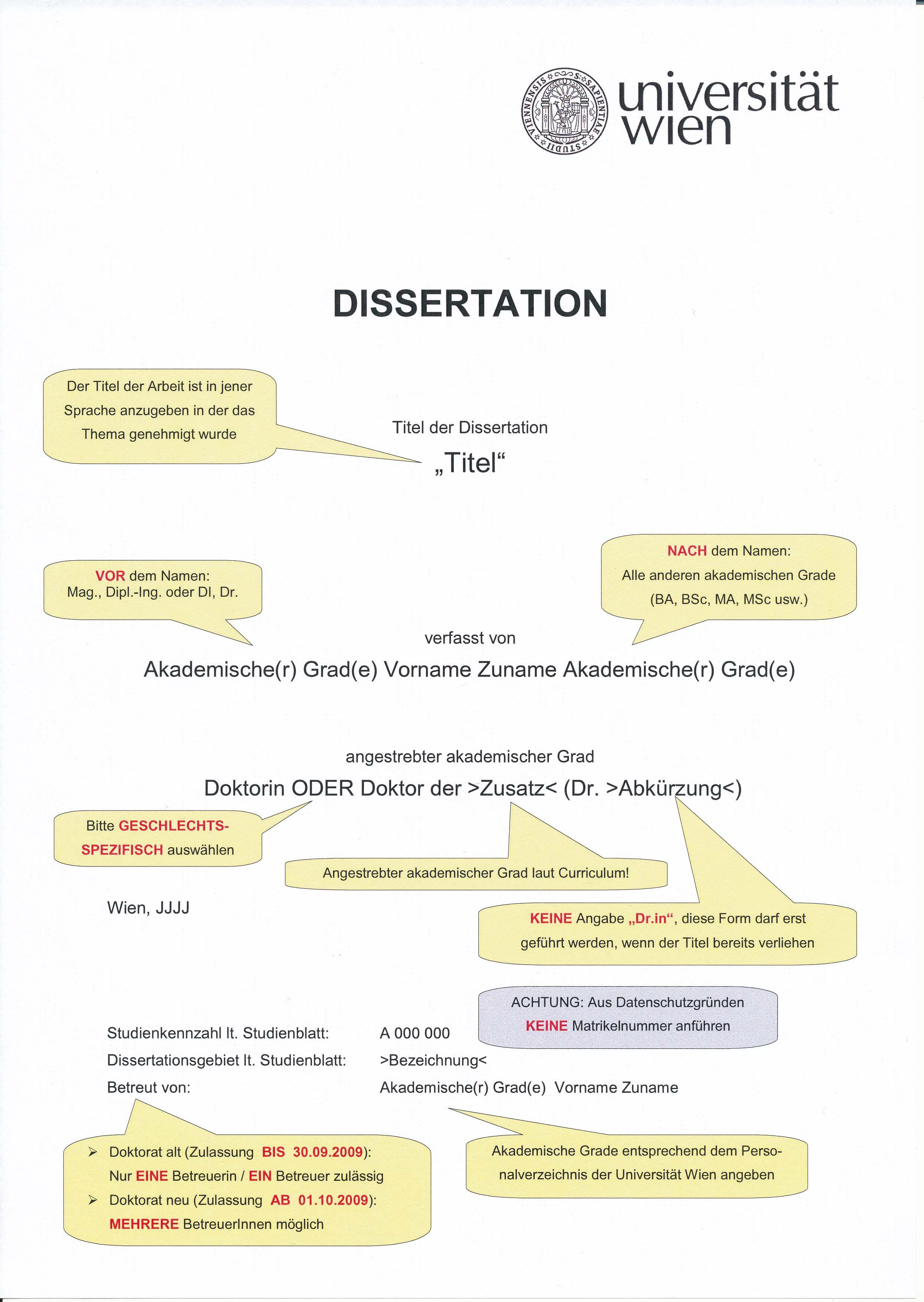 Dissertation Germanistik Uni Wien